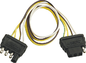 2', 4 Way Extension Harness