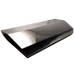 4150 Tall Aluminum Stealth Single Air Scoop
