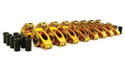 "Ultra Gold Roller Rocker Arms - Big Block Chevy 7/16"" 1.7 Ratio"