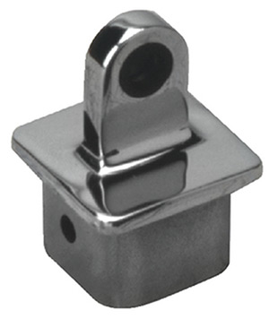 "Internal Square Eye End, 7/8"" X 7/8"" Stainless, Each"""