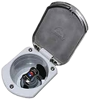 STAINLESS STEEL RECESSED TRANSOM SHOWER MIXER (SCANDVIK)