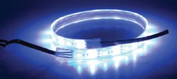 Led Dual Color Flex Strip, Blue/White