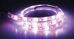 Led Dual Color Flex Strip, Red/White