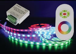 Led Flexible Pcb 50/50 Board Rope Lights W/Controller Red/Green/Blue