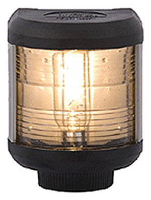 Aqua Signal 40500 Series 40 Sailboat Light, Stern Side Mount, Black