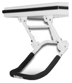 Self-Retracting Under-Mount Accordion Step Ladder