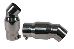 "4"" XPM525 Performance Clamp-on Mufflers"