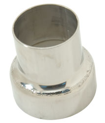 "3"" To 4"" 316L Stainless Steel Inline Exhaust Reducer"