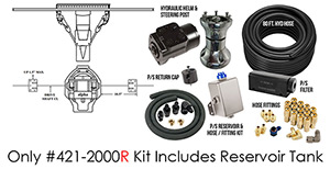 Full Hydraulic Alpha Dual Ram Power Steering - Standard Kit