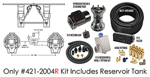 Full Hydraulic Alpha Dual Drive Dual Ram Power Steering - Narrow Kit