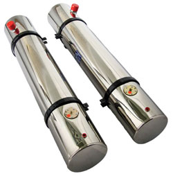 "Fuel Tanks - 8-1/2"" x 60"" 13 Gallon with Sender"