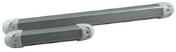 "Lumitec Rail2 Led Light 12"", Brushed"""