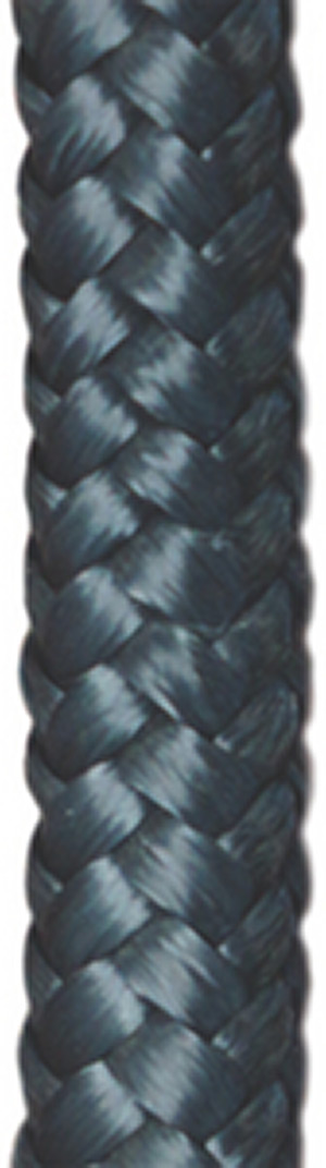 "Double Braided Polypropylene Fender Lines, 3/8"" x 6' , Navy"