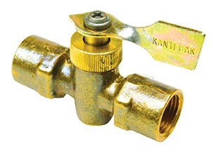 Seachoice Brass Two Way Fuel Line Valve