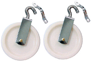 Seachoice Tiller Rope Pulleys (2 Per Pack)