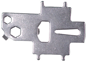 Seachoice Stainless Steel Deck Plate Key and Tool