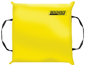 Seachoice Type IV Foam Safety Throw Cusion Yellow