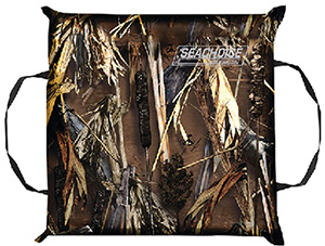 Seachoice Type IV USCGA Foam Throw Cushion - Camoflauge
