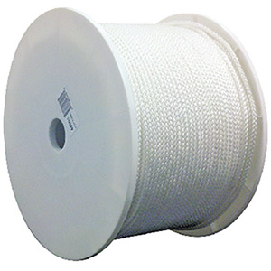 Seachoice White General Purpose Tie Down Cord 1000' Spool
