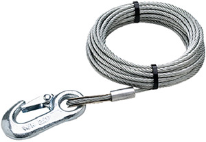 Seachoice 25' Galvanized Winch Cable