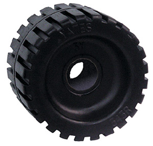 Seachoice Black Rubber Ribbed Roller 4-3/8""