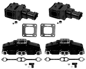 GM V8 BB Exhaust Manifold System Set