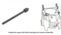 Bushing Installation Tool 91-805057A2