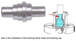 Bearing Carrier Seals and Bearing Cup Driver 91-89865