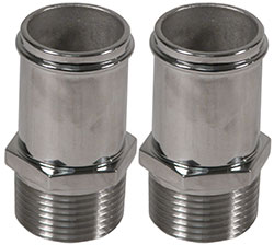 "Custom Handcrafted Stainless Fitting 1"" NPT To 1-1/4"" Straight"