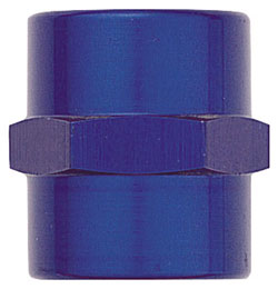 Blue Female NPT Pipe Coupling