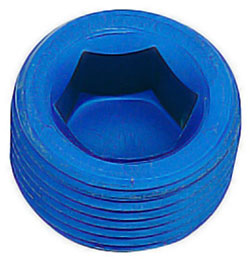 Blue Male AN Internal Wrenching Cap