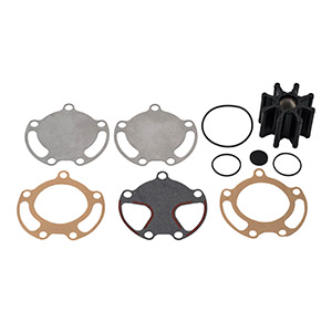 59362Q08 Sea Water Pump Impeller Replacement Kit - Bravo I, II and III with Two-Piece Pump Body