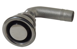 "5/8"" Stainless Steel Right Angle Fuel Vent"