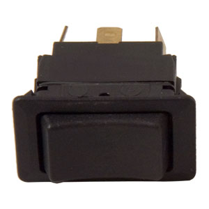 ROCKER SWITCH MOM ON/OFF/MOM ON 6 SPADE DOUBLE POLE