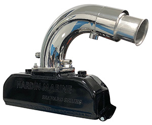 Seaward Series 350 Mag MPI Alpha-Bravo EC  (Catalyzed-Delete) Exhaust System