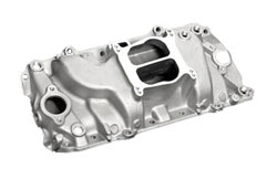 SE Sport Dual Plane Big Block Chevy Oval Port Intake Manifold - Satin