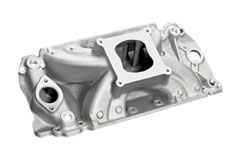 XS Extreme Satin Intake Manifold For B/B Chevy with Oval Ports