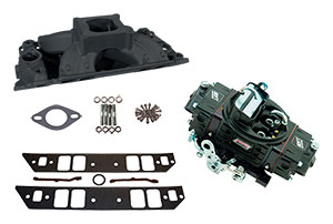 HP 500 Style Intake/Carburetor Package with Anodized Intake - Rectangular Port