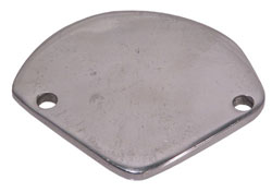 "Bellhousing Inspection Hole Cover, 2-Bolt Pie Shaped, 3-1/2"" Bolt Centers"