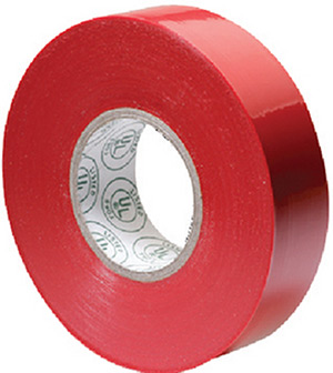 Premium Electrical Tape, Red
