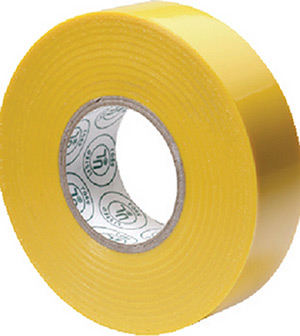 Premium Electrical Tape, Yellow