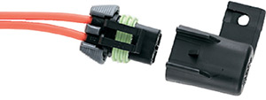Ancor Fuse Holder, Waterproof In-Line 15 Amp 16 Awg