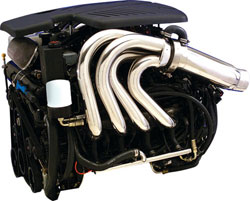 CMI 496 Sport Tube Corsa Adapter Exhaust System