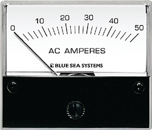 Blue Sea Systems 9630 Ac Ammeter - 0 To 50a With Coil