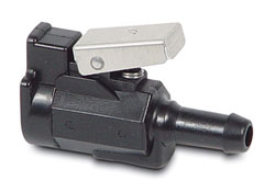"Fuel Connector 3/8"" hose barb"