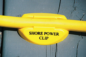 Dock Edge Shore Power Clip For 30 Amp Cords Yellow (4/Bag)