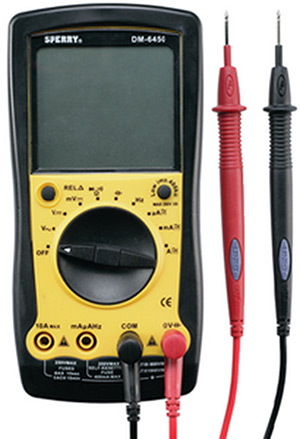 Marinco Dm6450 9 Function Digitial Multimeter (Requires One 9 Volt Battery Not Included)