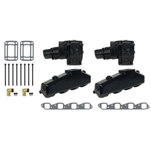 Complete Exhaust Manifold and Conversion Kit- GM V8 454/502 CID (7.4/8.2L)