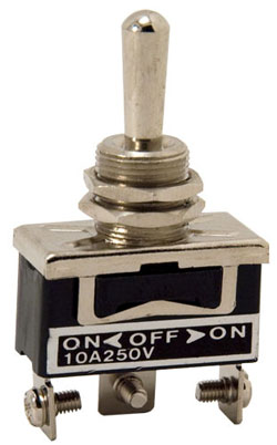 Standard Duty Toggle Switch On/Off/On Single Pole