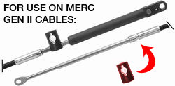 Cable Connection Kit for Mercruiser Gen II Cables